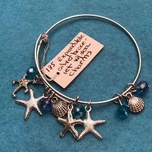 Jewelry - Expandable seaside charm bracelet